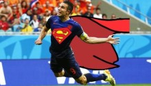 Robin Van Persie The Real Flying Dutchman